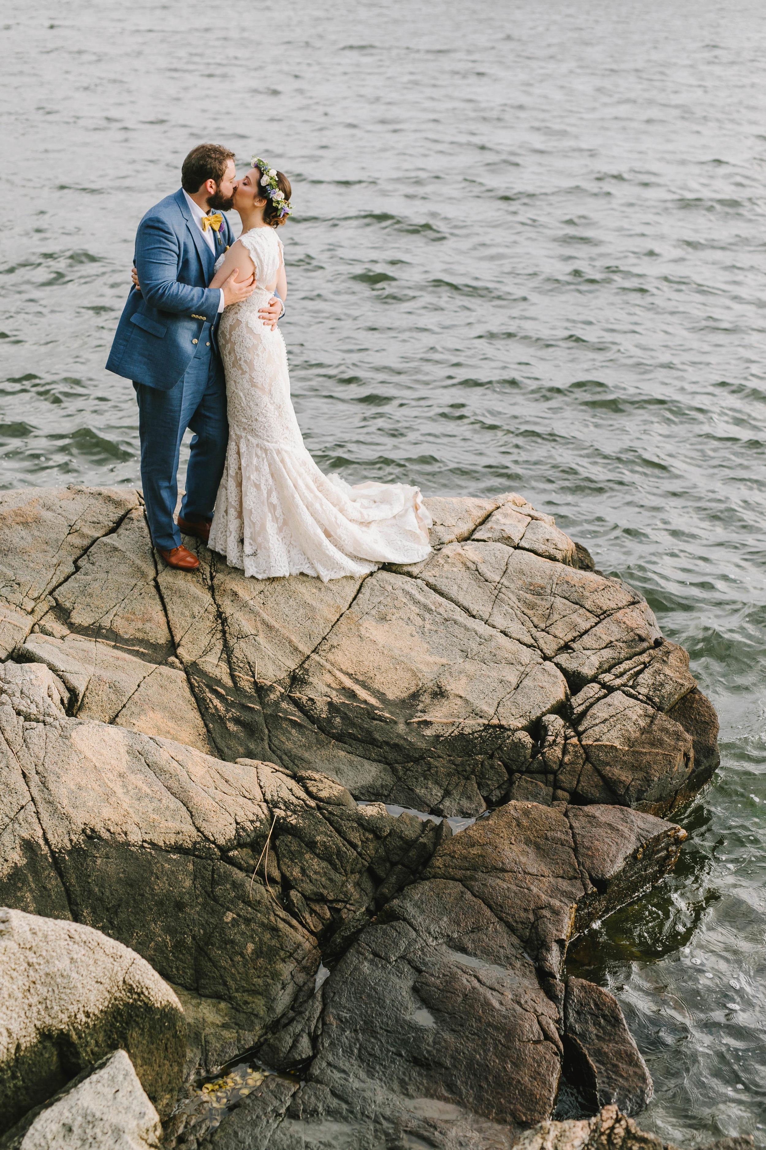 Mount Hope Farm Bristol Rhode Island RI New England Coastal Flower Crown Wedding - Emily Tebbetts Photography-18.jpg
