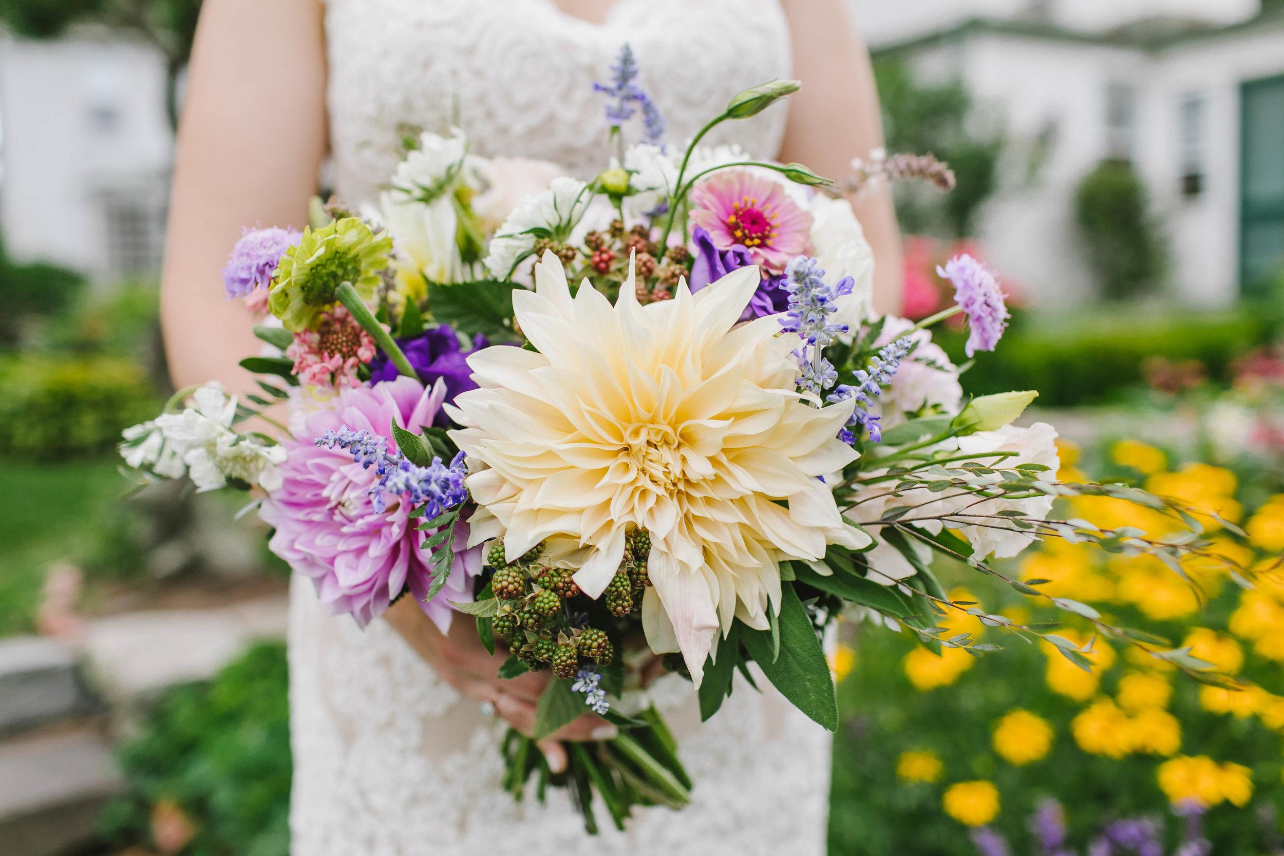 Mount Hope Farm Bristol Rhode Island RI New England Coastal Flower Crown Wedding - Emily Tebbetts Photography-7.jpg