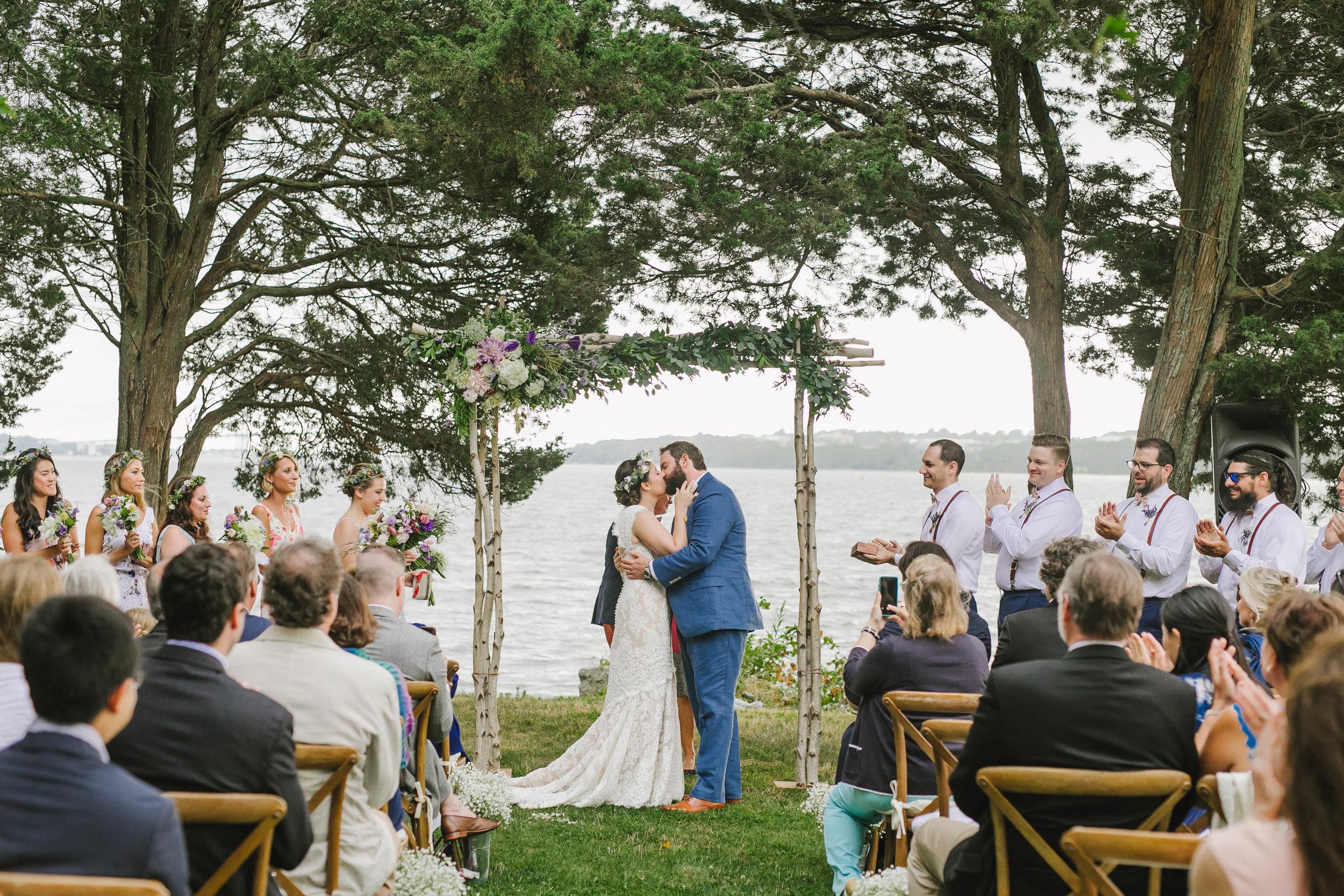 Mount Hope Farm Bristol Rhode Island RI New England Coastal Flower Crown Wedding - Emily Tebbetts Photography-11.jpg