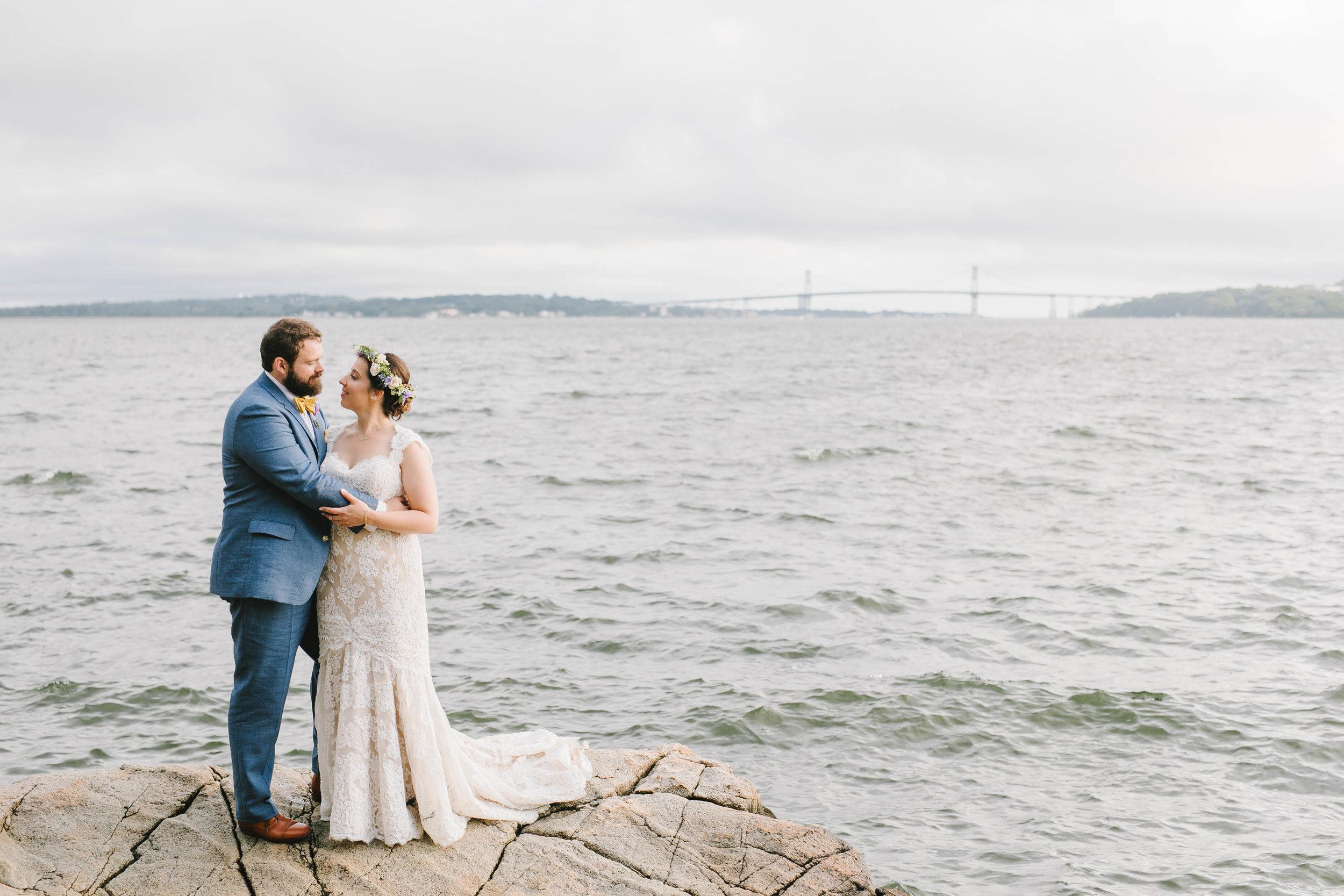 Mount Hope Farm Bristol Rhode Island RI New England Coastal Flower Crown Wedding - Emily Tebbetts Photography-16.jpg