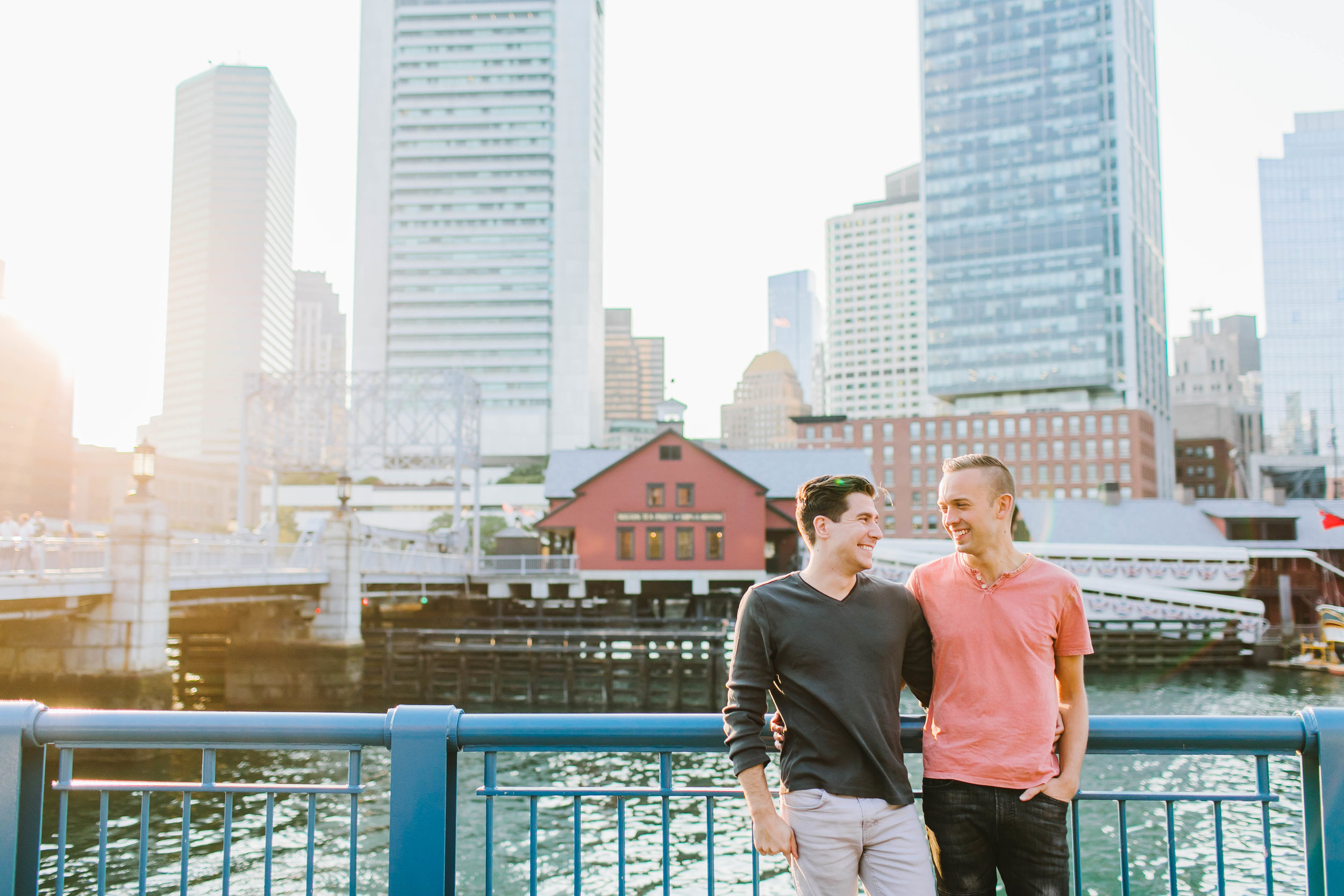 Fort Point Boston City Engagement Session ICA Childrens Museum LGBTQ same sex couple - Emily Tebbetts Photography-8.jpg