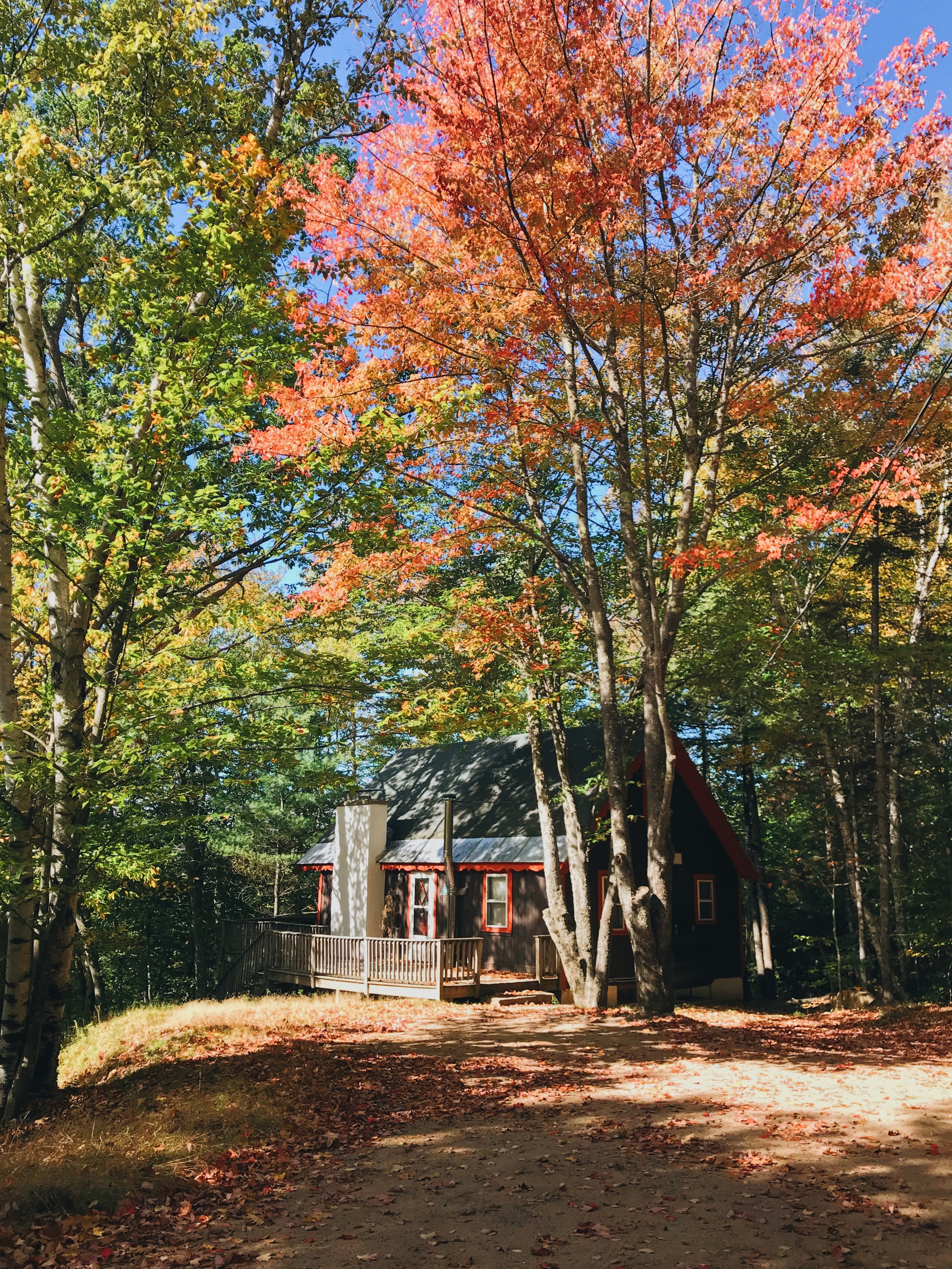 Vienna Lodge Airbnb North Conway White Mountains New Hampshire Chalet Mountain Views Getaway Vacation Retreat Storyland