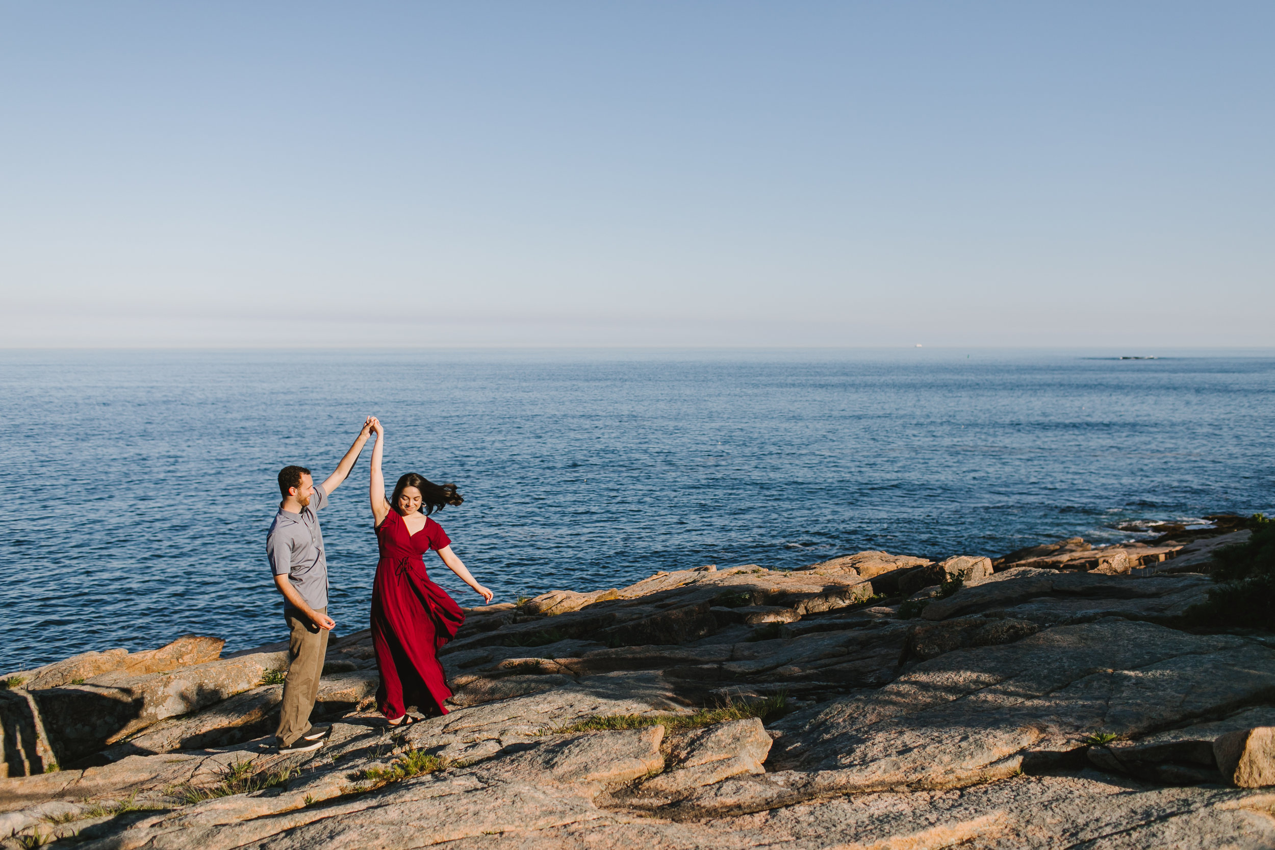 Acadia National Park Engagement Couples Adventure Photos Photography Session - Emily Tebbetts Photography -2.jpg