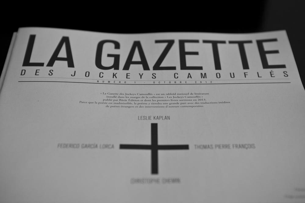 La Gazette des Jockey Camouflés