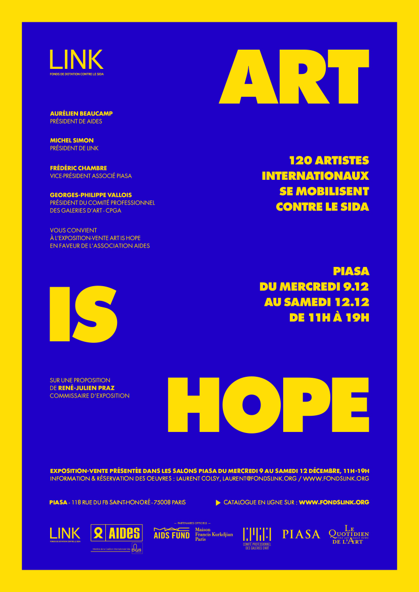 Poster ART IS HOPE 2015