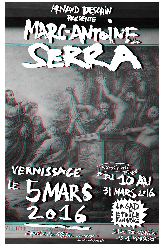 Poster en relief —  La resurrezione di Lazzaro   (détail), 2016. © Marc-Antoine Serra