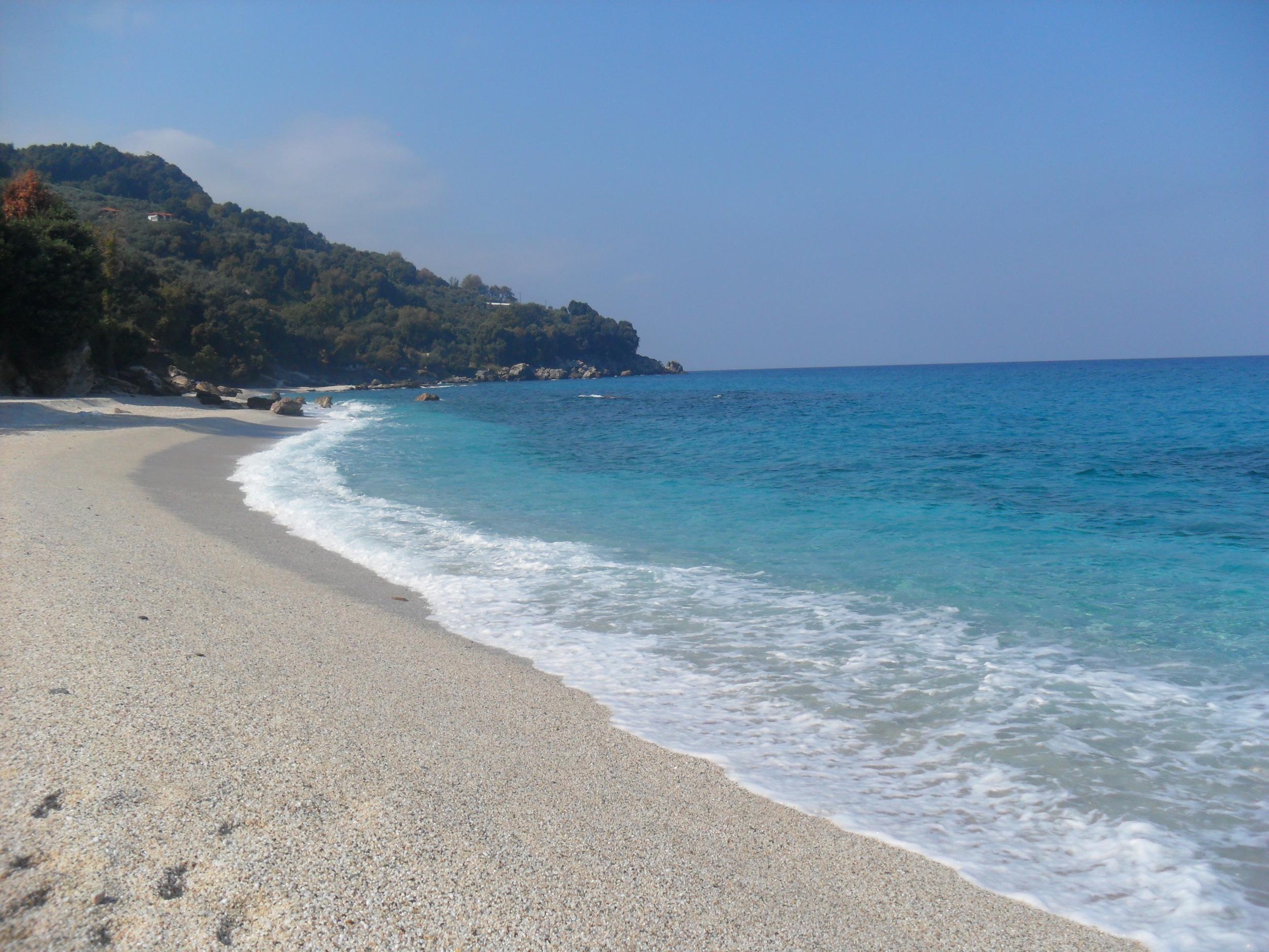 Plaka Beach, Agios Ioannis, Greece