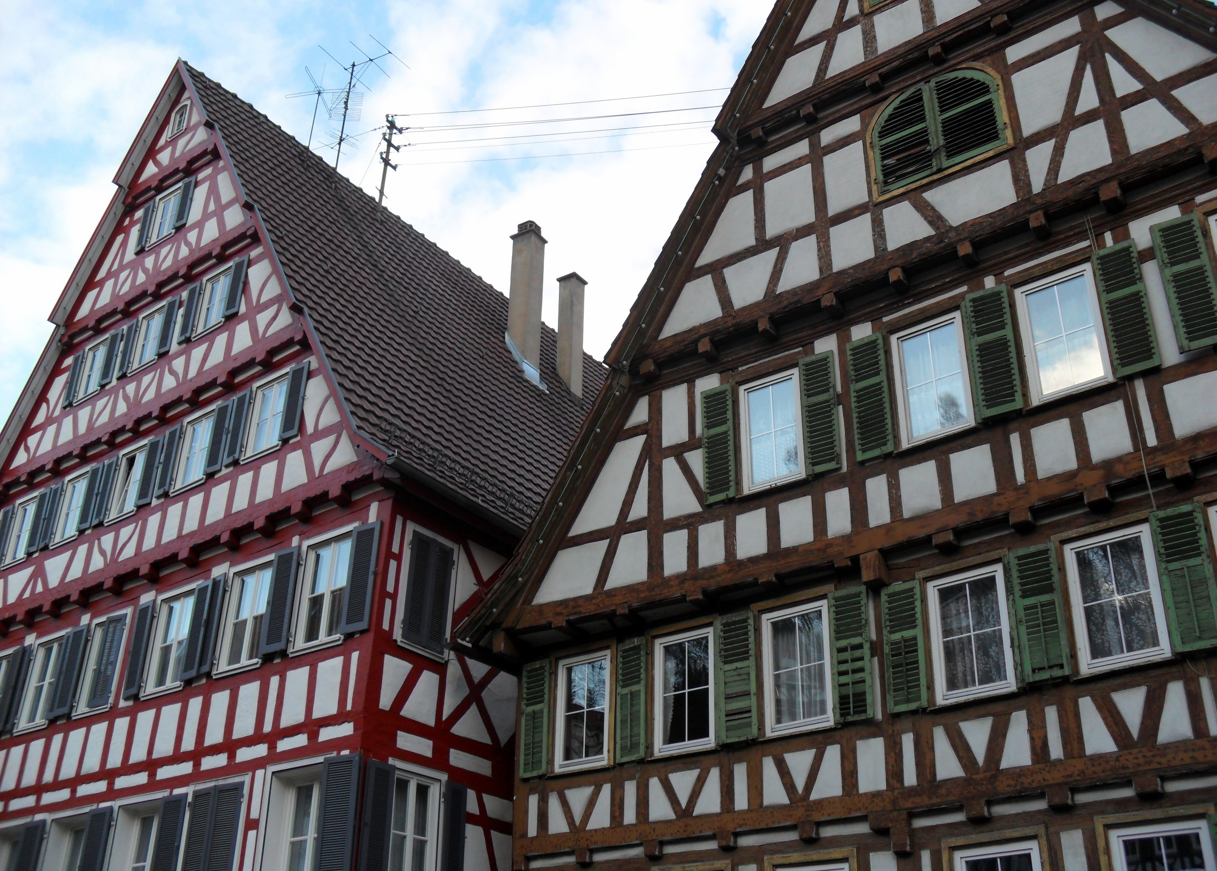 Oh look,  another  fachwerk house...