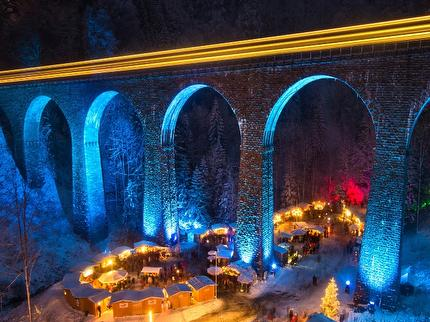 The Christmas market of the Ravenna Gorge