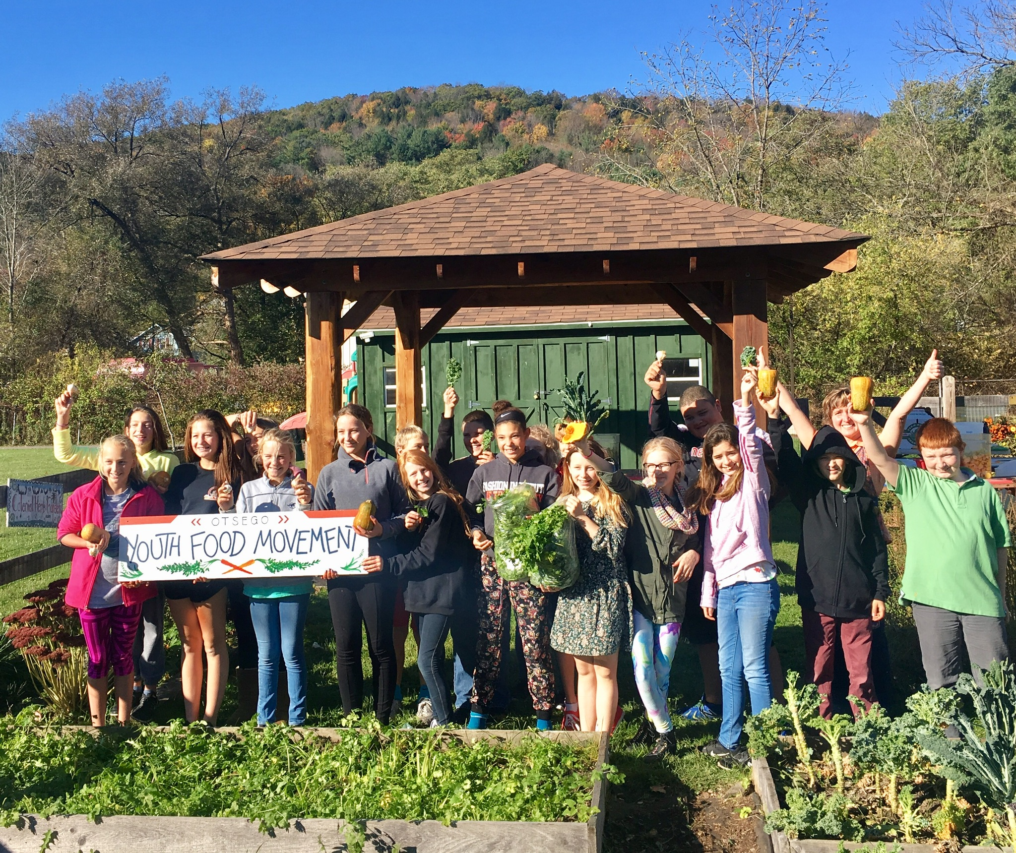 The Otsego Youth Food Movement - Our local chapter of this international movement has roots in Cooperstown schools and is open to all in the surrounding area. In kitchens & gardens we aim to encourage & mobilize responsible food choices, and take part in the public debate about current issues such as how to feed the world, what to do about food waste, and how to produce food as sustainably as possible?