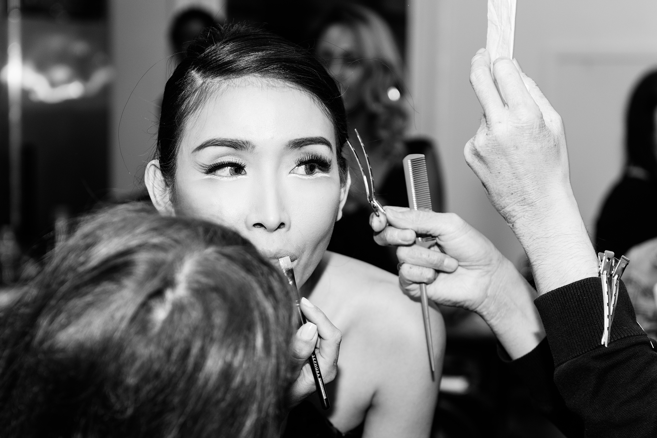 New York, USA, 2014  2015 NYFW SP Backstage