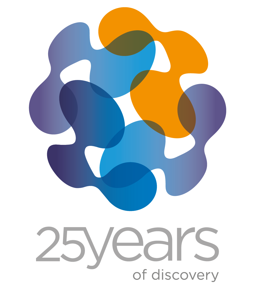 Magstim 25th Anniversary logo