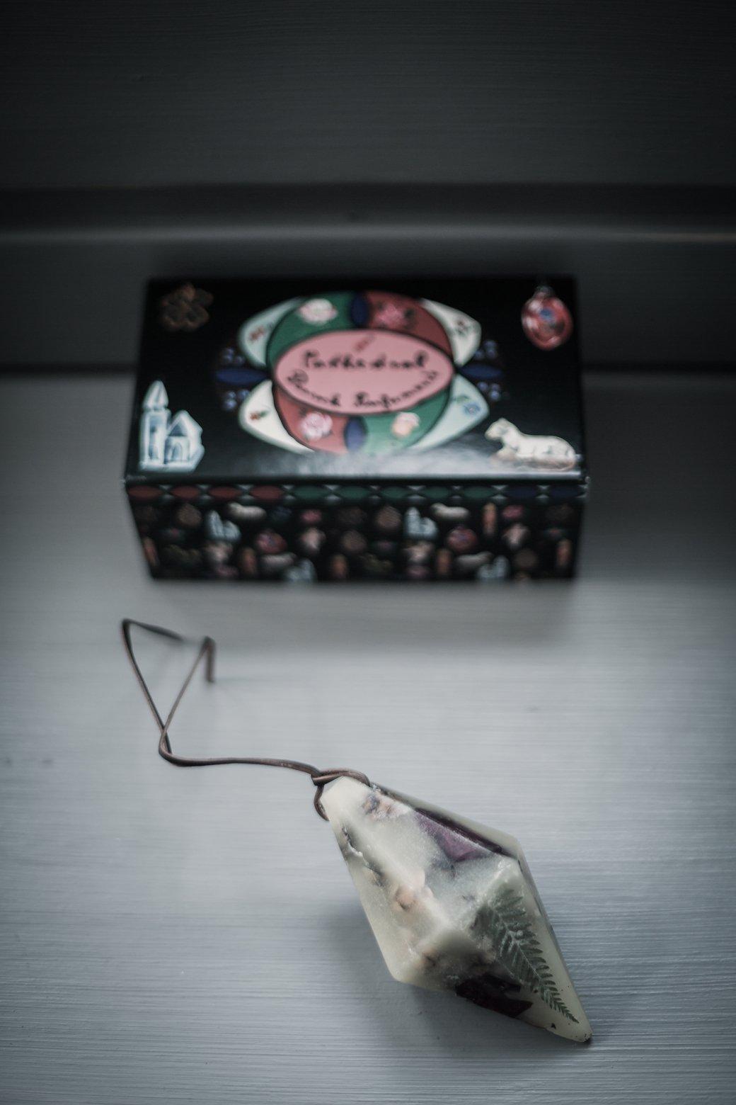 Peacock Parfumerie's fragranced wax curiosities  as seen on  Decor8