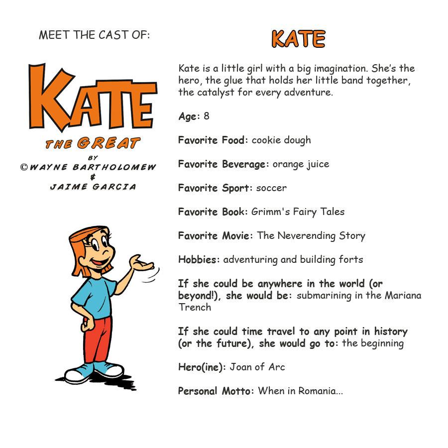 Kate Bio
