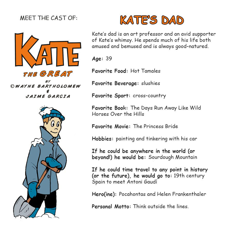 Kate's Dad Bio