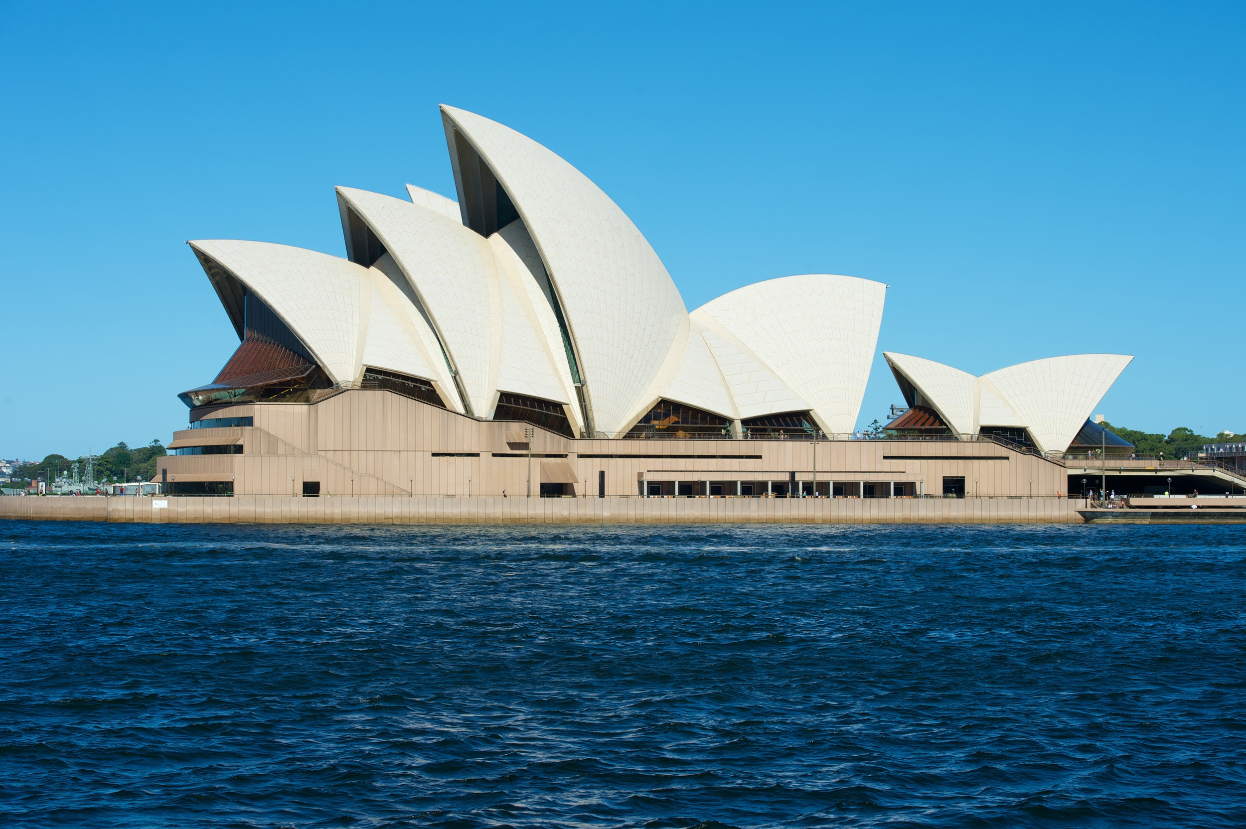 The Opera House, taken from an afternoon trip by boat to Manly Beach. Real tourists for a day!