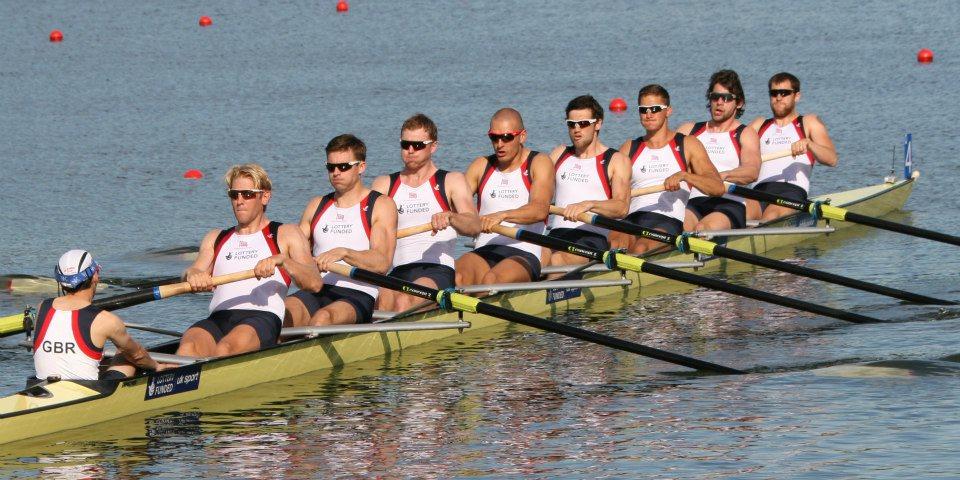 GB Men's 8, Phelan Hill (cox) Andy Triggs-Hodge, Pete Reed, Alex Gregory, Moe Sbihi, Matt Gotrel, Lance Treddle, Tom Ransley, Dan Richie.