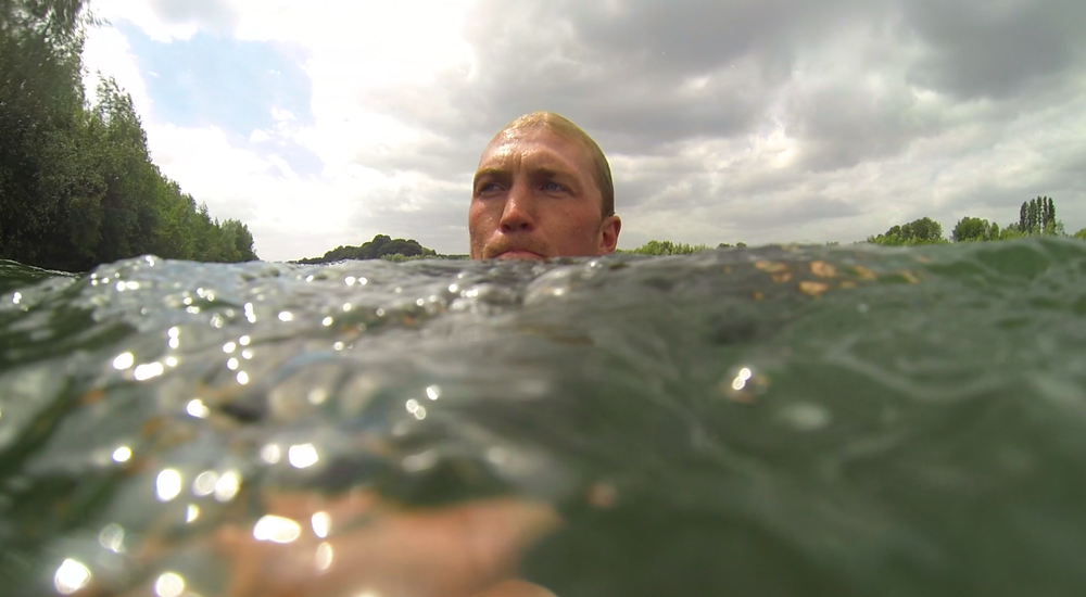 Nothing better than a quick dip in a cool lake!