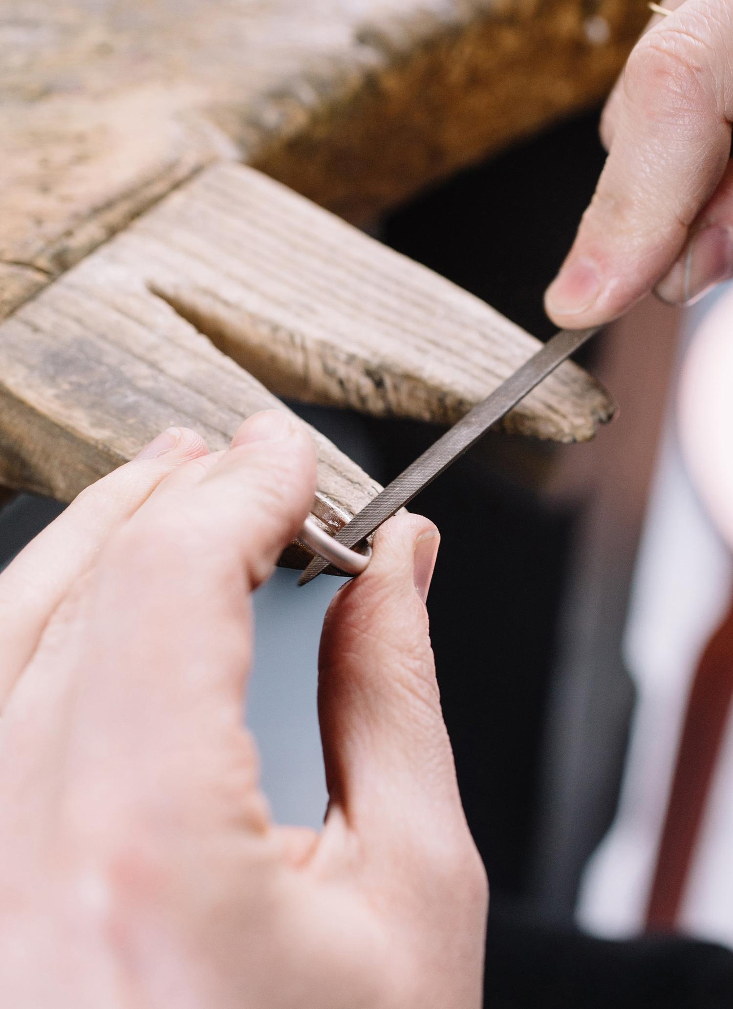 hand-making-wedding-rings