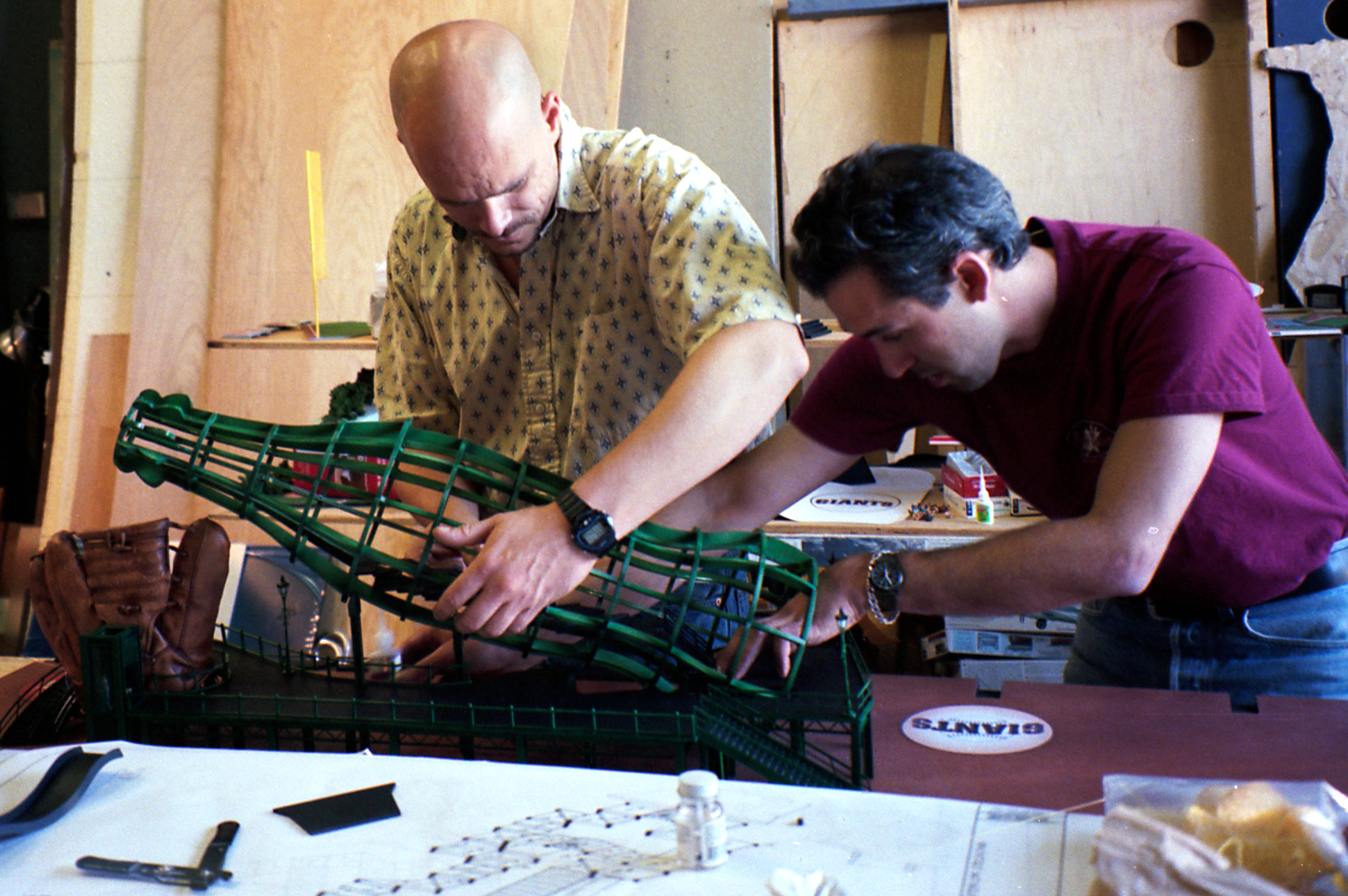 Model-making for Coca-Cola and AT&T Park