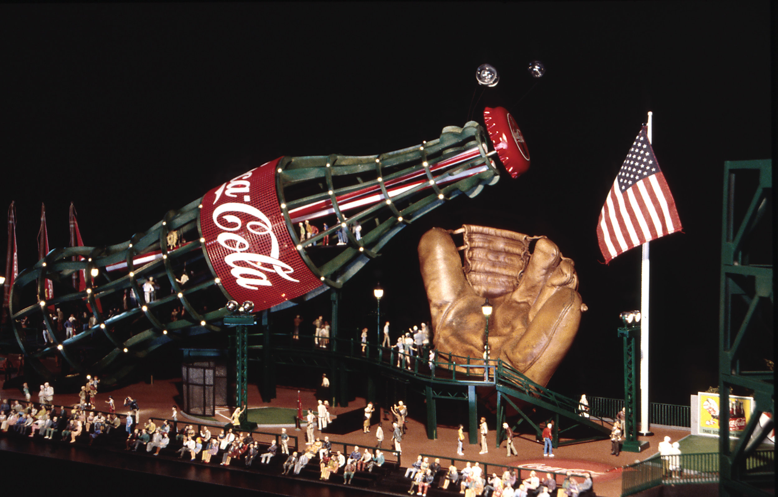 Beautiful Model for the San Francisco Giants and Coca-Cola New AT&T Park Fan Lot