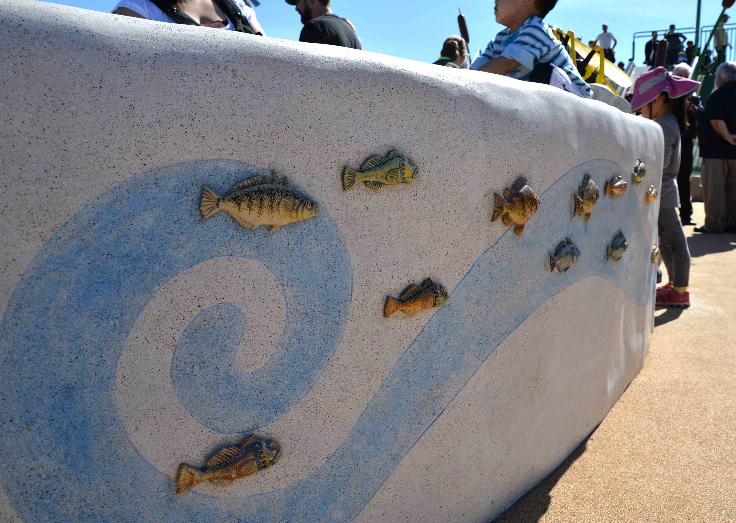 Ceramic Fish Tiles