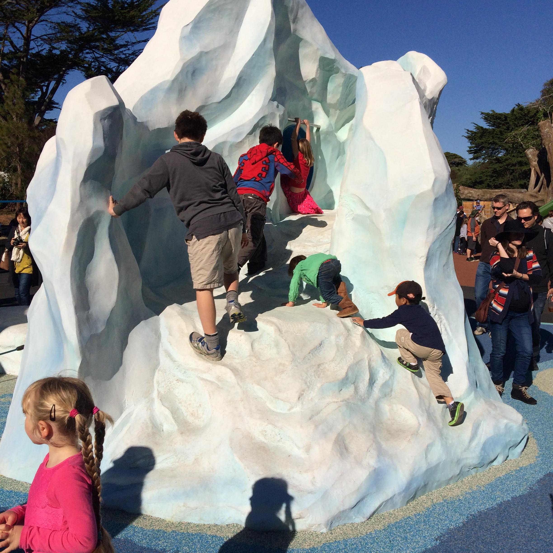 SF Zoo.Playground.Polar Zone.Iceberg.2013-11-24 11.45.58.jpg