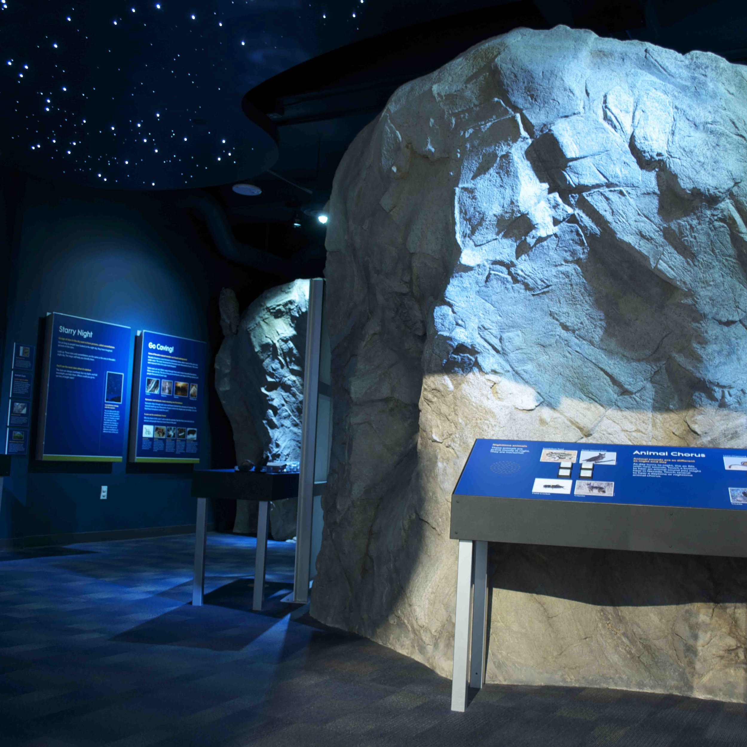 Terry Lee Wells Nevada Discovery Museum : Exhibits (S2 Associates)  Reno, NV