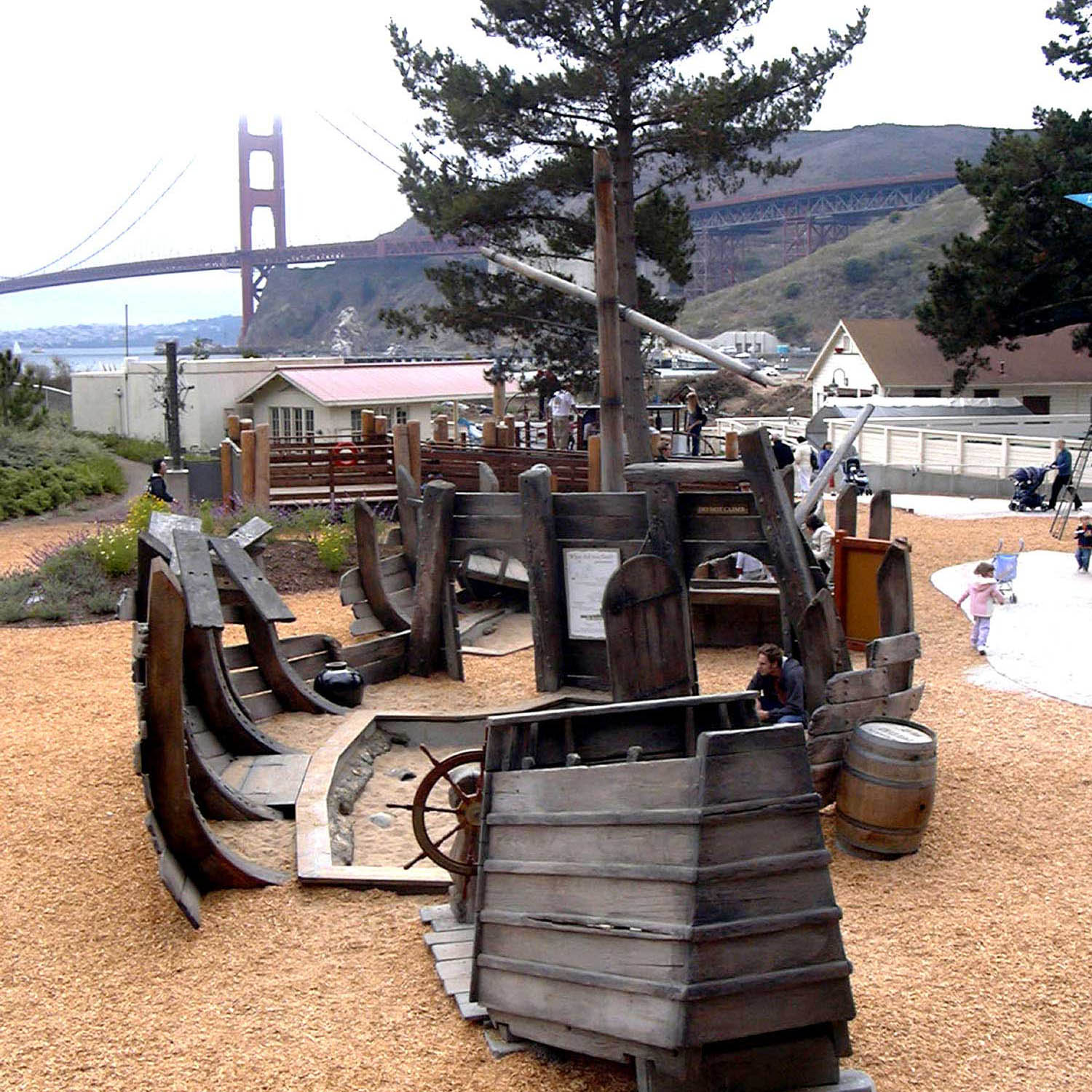 Bay Area Discovery Museum : Lookout Cove  Sausalito, CA