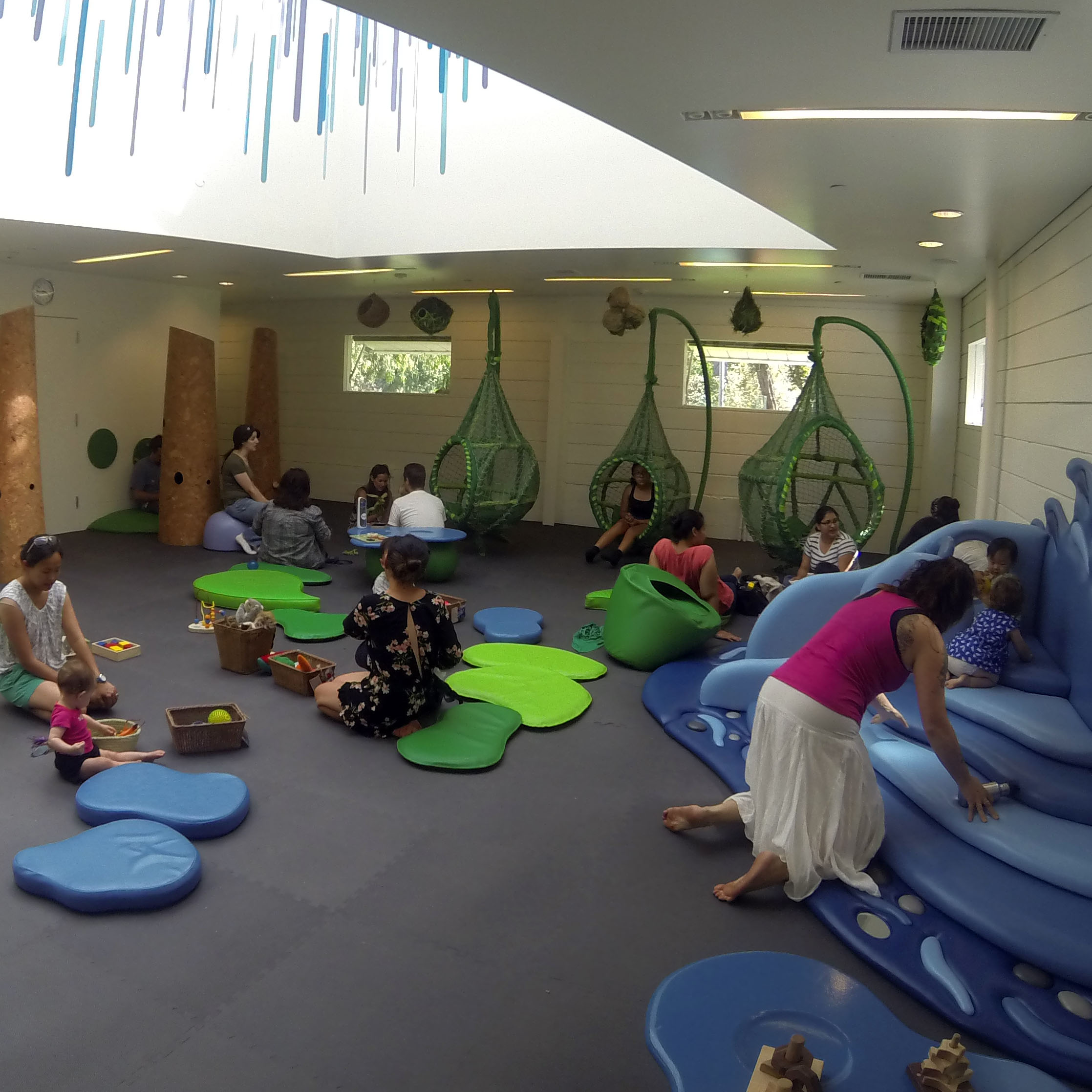 Kidspace Children's Museum : Safe Nature-inpired Indoor Play space  Pasadena, CA