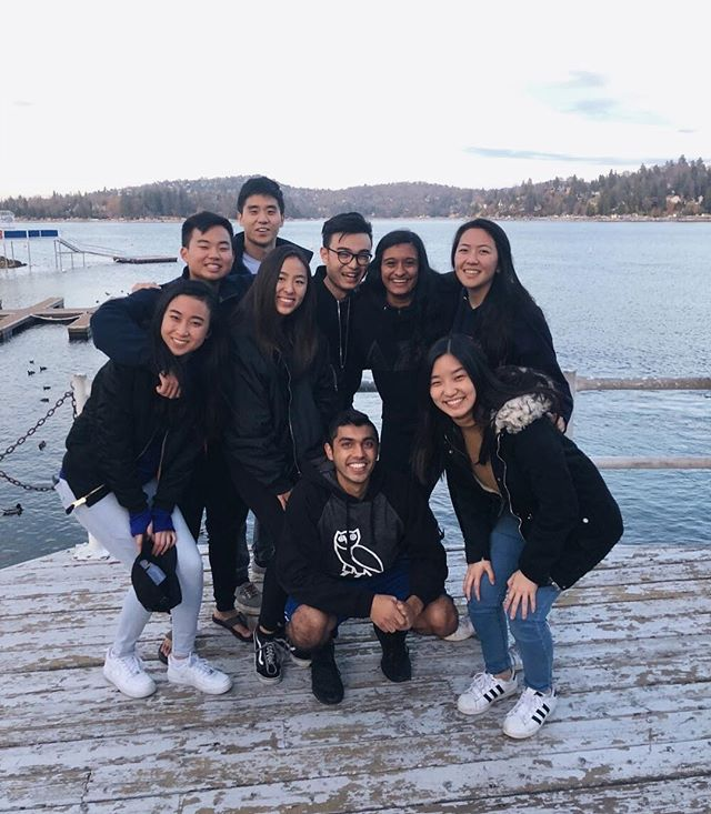 📍Retreat at Lake Arrowhead 🔜 Thanksgiving break! Hope everyone has a restful and food filled rest of the week #dsp #phi #retreat #deltalove
