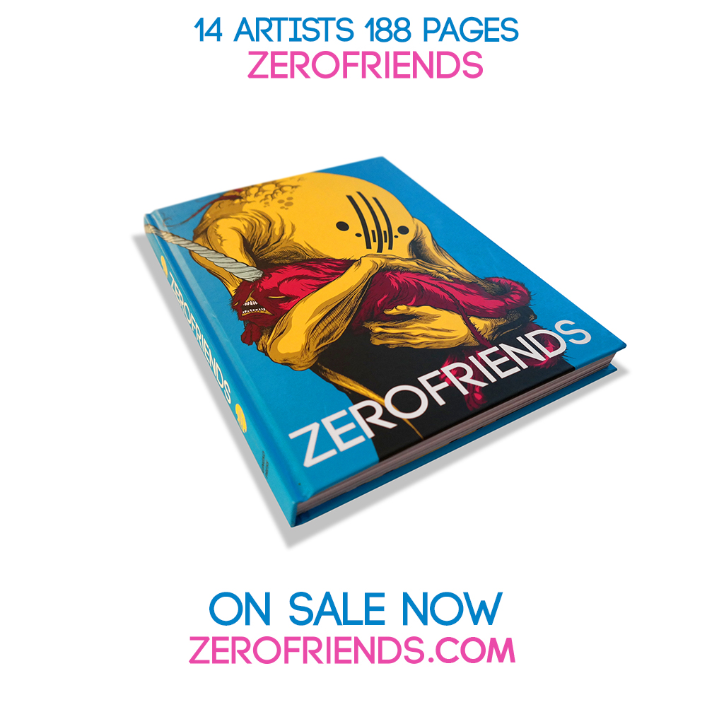 """9"""" x 11"""",188 pages,14 Artists,Hardcover.  $29.95  Purchase   Signed By Alex Pardee, Dave Correia & Quake"""