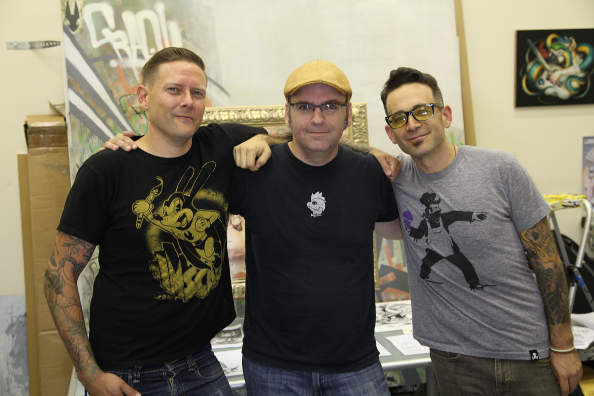 "Greg ""Craola"" Simkins, Pete Levin (Director), Dan Levy (Producer)"
