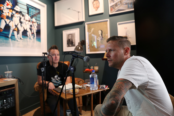 "Mark Hoppus interviews Greg ""CRAOLA"" Simkins podcast:  EP #007 - Call Me Crum"
