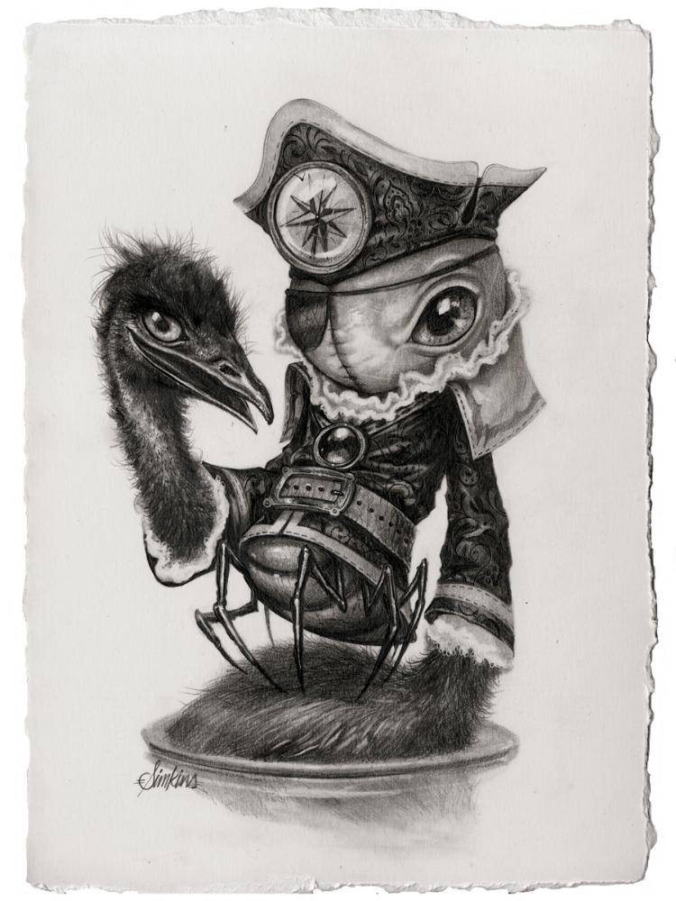 Cap'n Emu-Claw