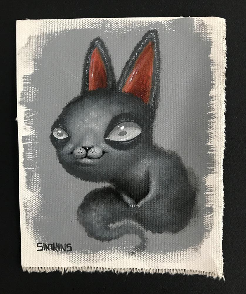 Ghost Bunny (Study)