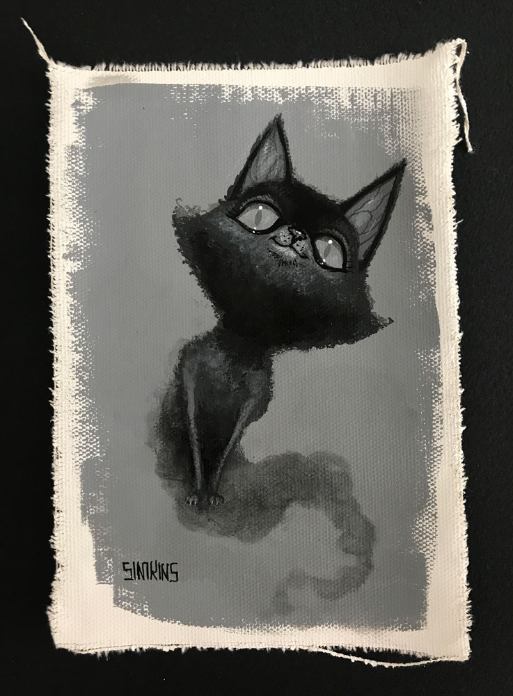 Ghost Cat (Study)
