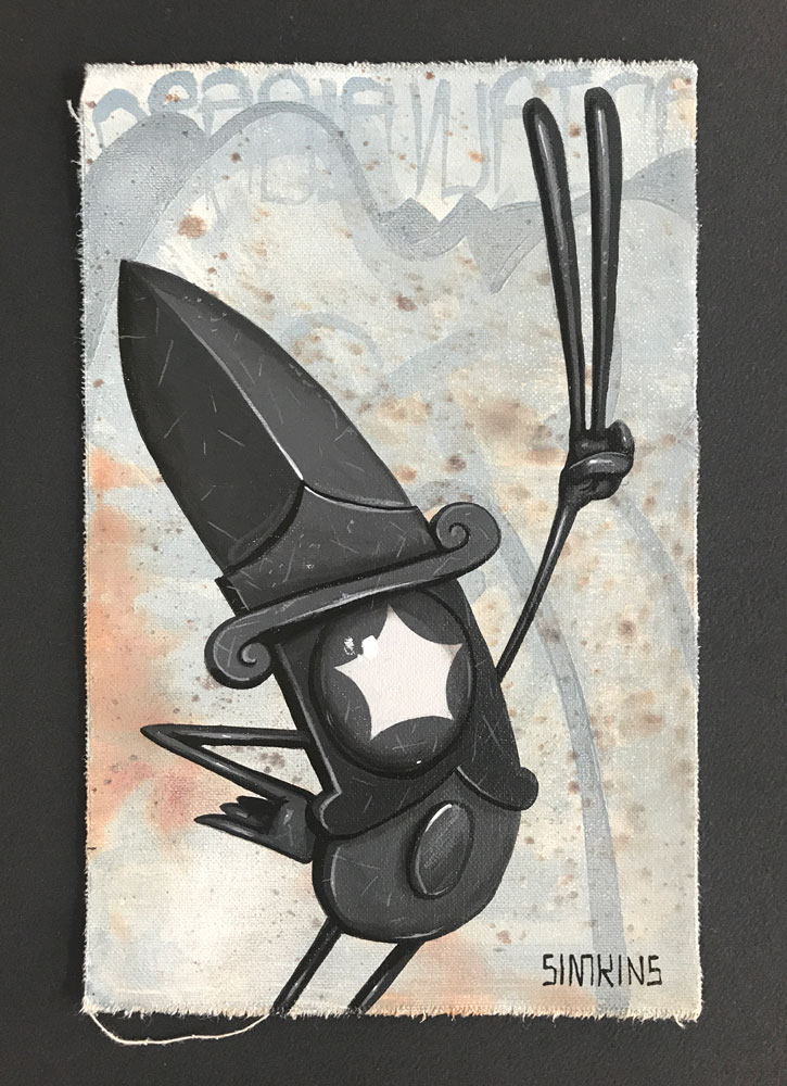 Stabby Starry Knight (Study)