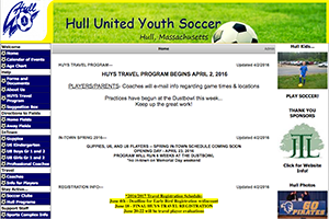 Hull United Youth Soccer