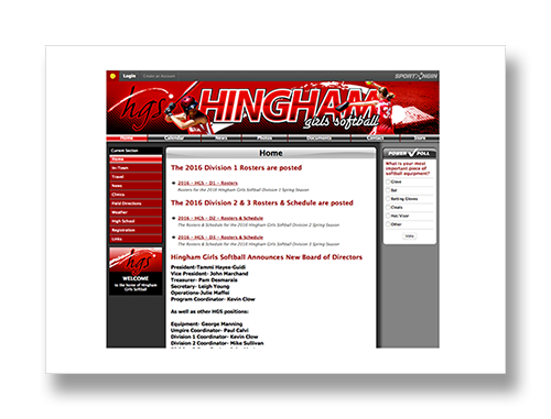 Hingham Girls Softball