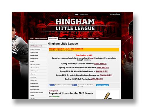 Hingham Little League