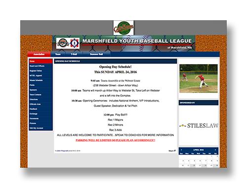 Marshfield Youth Baseball
