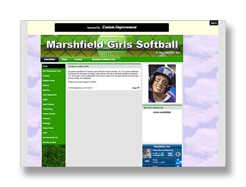 Marshfield Girls Softball