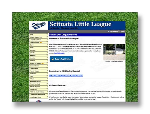 Scituate Little League