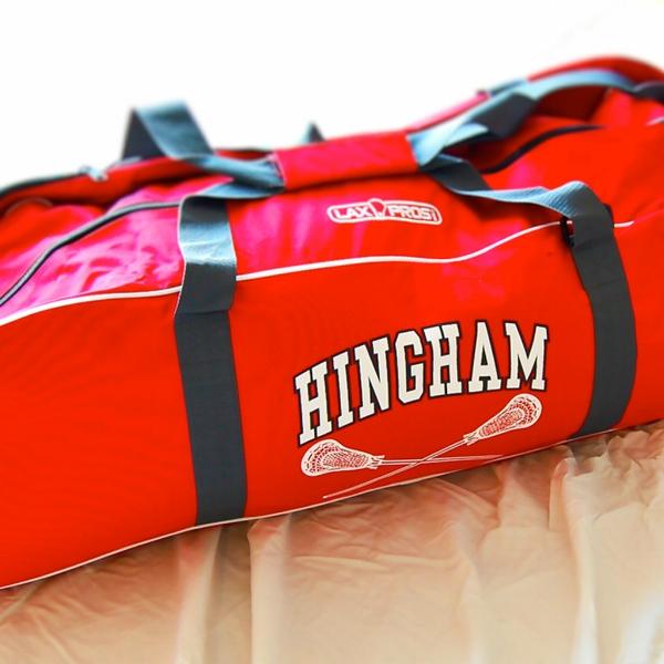 Hingham Lax Gear Bag: $80