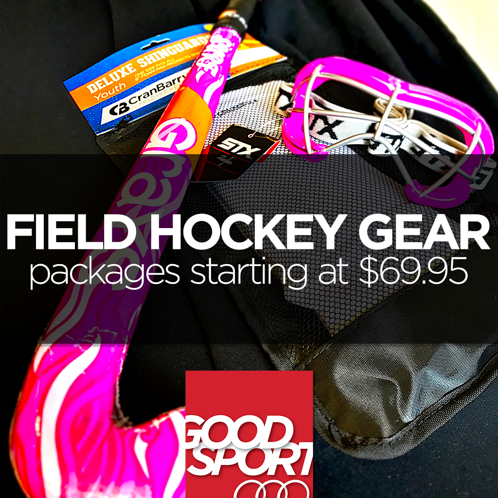 We also have a wide variety of field hockey equipment for beginners as well as seasoned veterans.