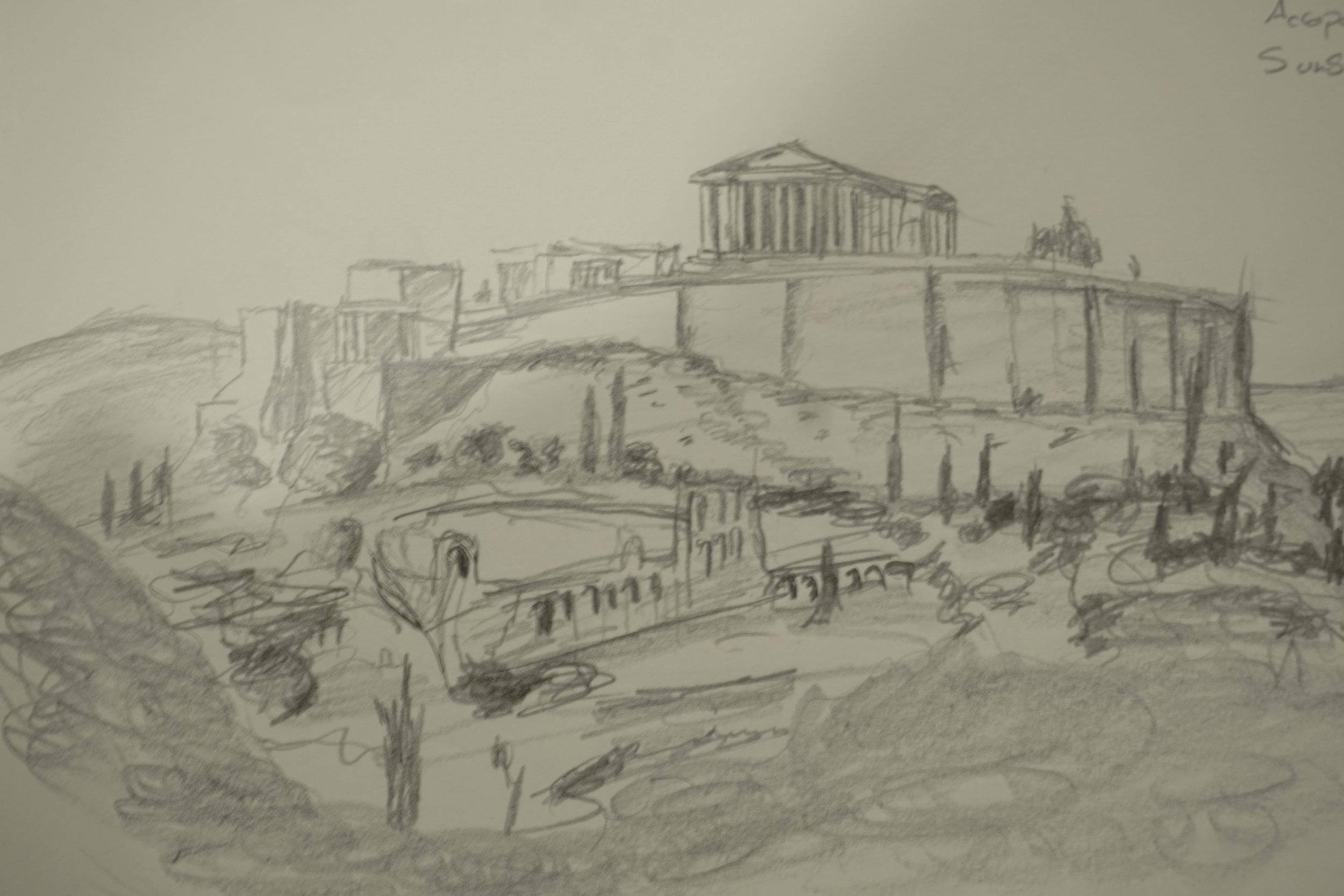 The acropolis of Athens, Greece © 2016 David Harrop