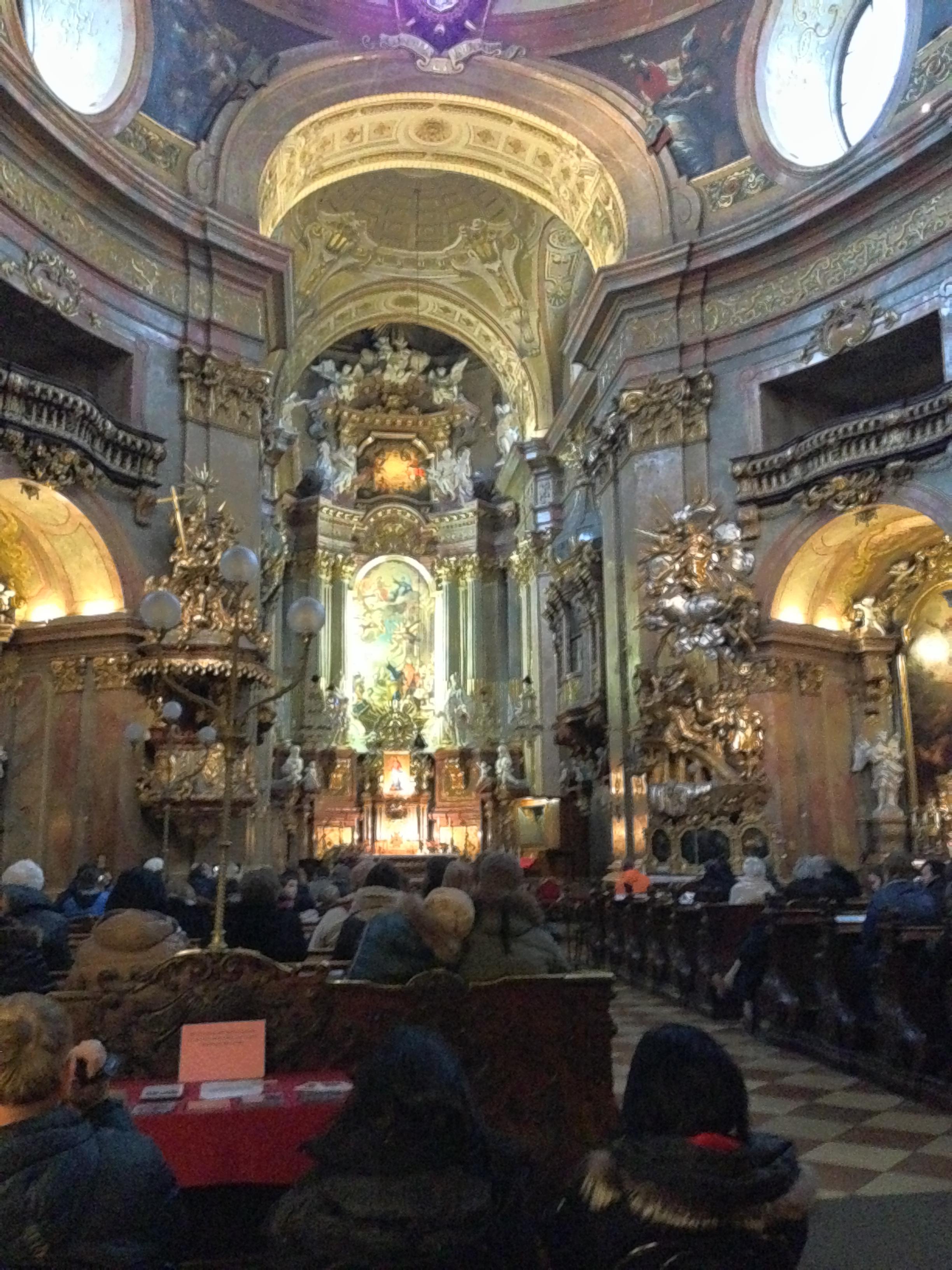 Vienna, Austria Katholishe Kirche St. Peter