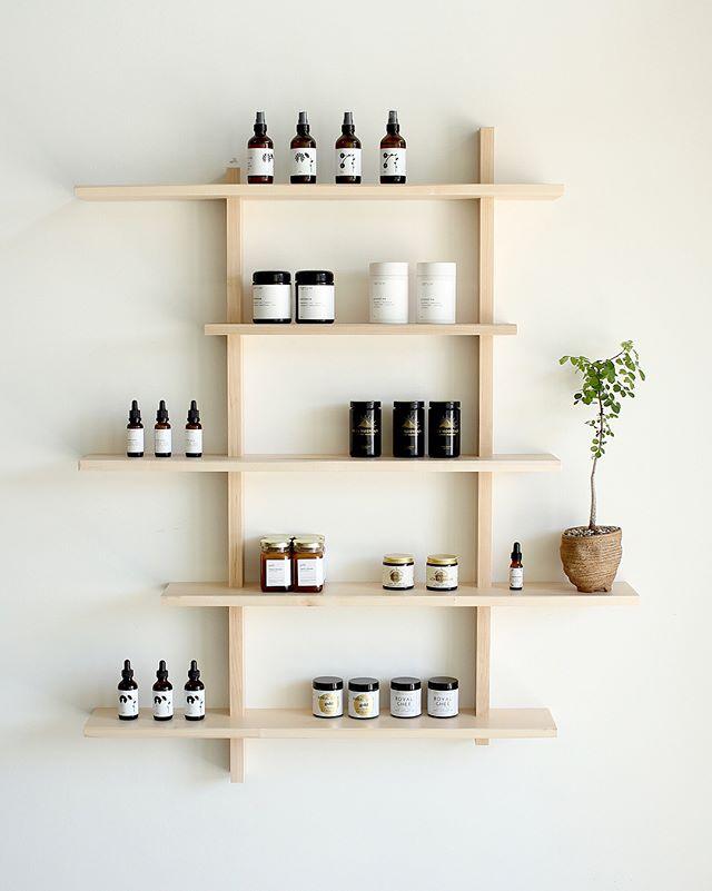 custom shelving for @shopsonomama
