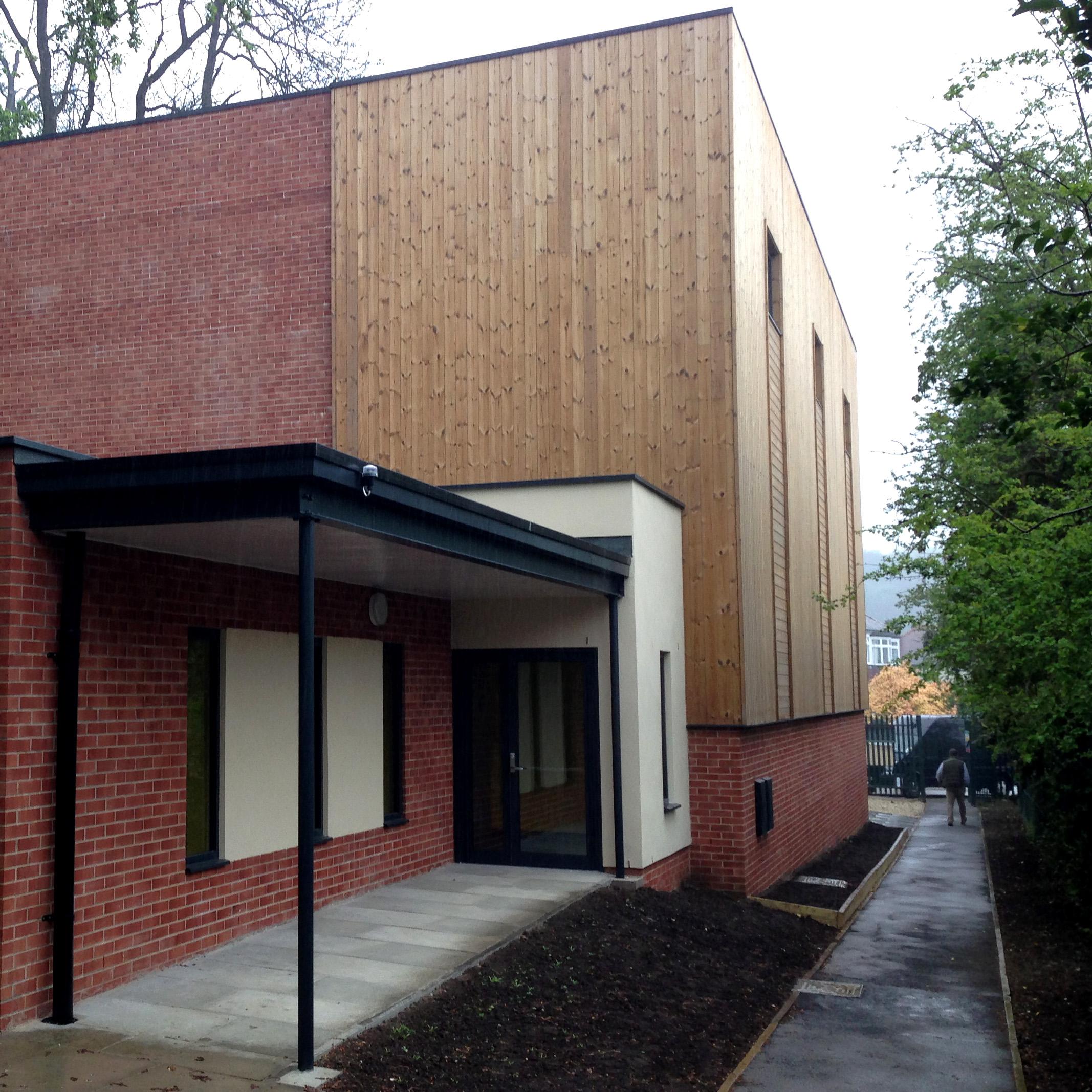 Social: St Wilfrid's, New Sports Hall